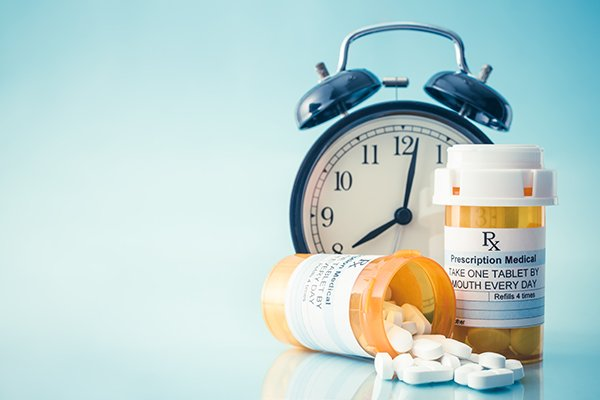 Administering anti-inflammatory medications like ibuprofen to treat COVID-19 during the right time of day could impact the effectiveness. (Photo by: Getty Images)