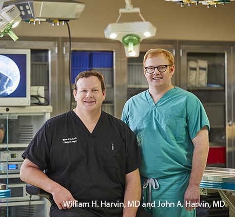 William and John Harvin